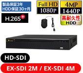 HD-SDI/EX-SDI 4CH DVR