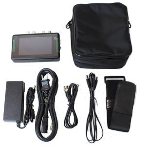 AHD/TVI 監視カメラ工事用モニター(AP-K043A)アクセサリー一式