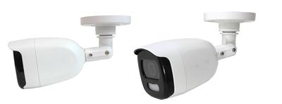 TVI/AHD/CVI 屋外200万画素防犯カメラ(AI-B100CV)の天井設置イメージ