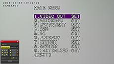 HD-SDI/EX-SDI/IPカメラ対応 DVR【AP-BM04HD2】のUTC機能です。