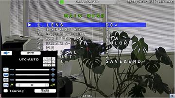 AHD/HD-TVI/HD-CVI/CVBS 8CHデジタルレコーダー【AP-EG08RS】は、カメラの電動ズーム機能やOSDメニュー操作を行うUTC機能に対応。