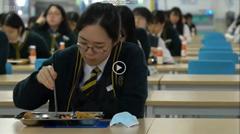 韓国の学校での新型コロナウィルス感染対策<※BBCニュース