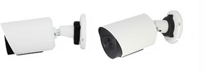 HD-TVI/AHD/HD-CVI 屋外200万画素防犯カメラ(RK-230ME)の壁面設置イメージ