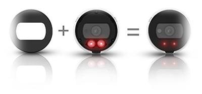 H.265ビデオ圧縮方式対応、200万画素ネットワークカメラ(RK-230ME)は、革新的なIRパフォーマンス